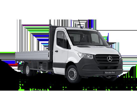 Mercedes Benz Sprinter Plataforma abierta