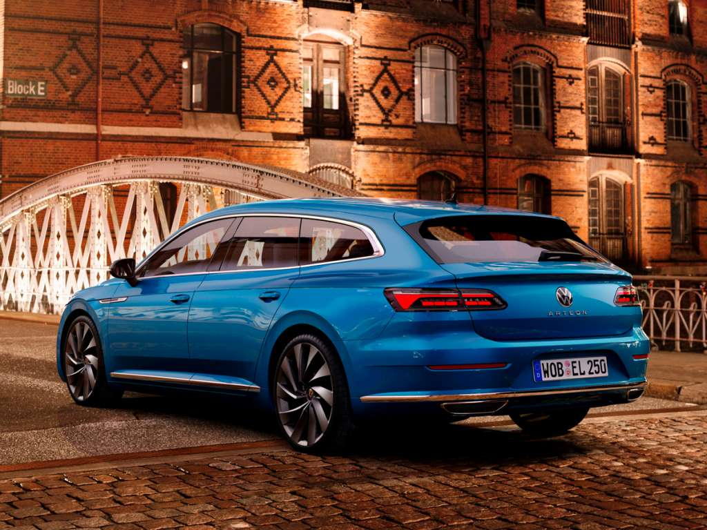 Volkswagen Novo Arteon Shooting Brake
