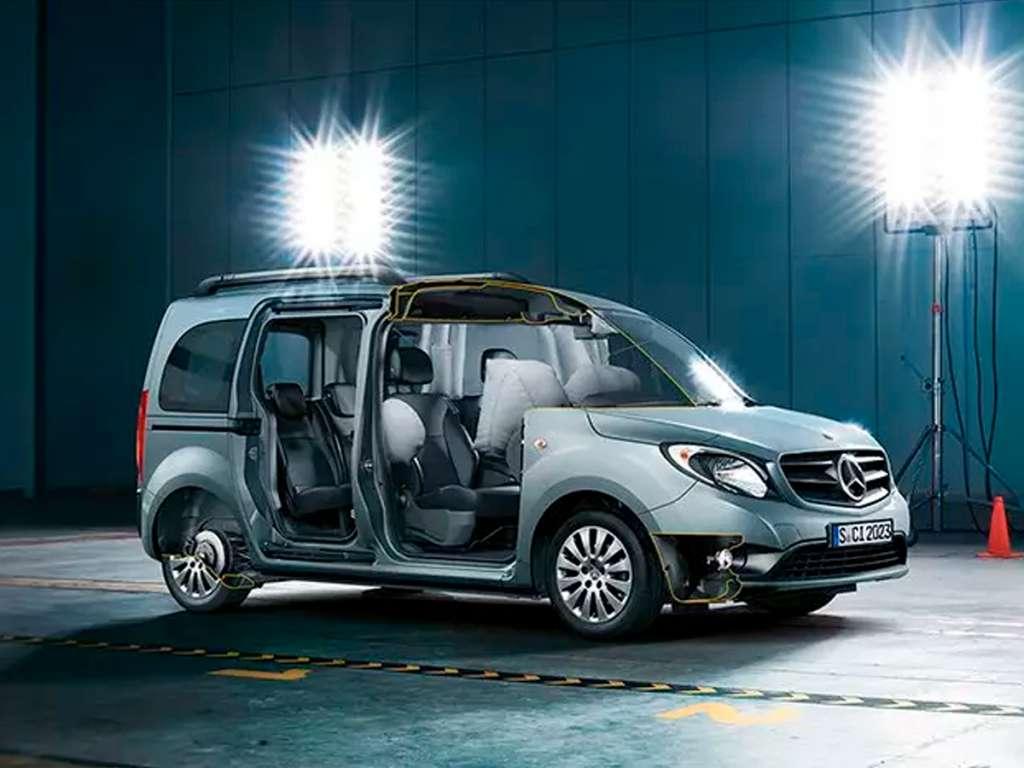 Galería de fotos del Mercedes Benz Citan Tourer Profesional (1)