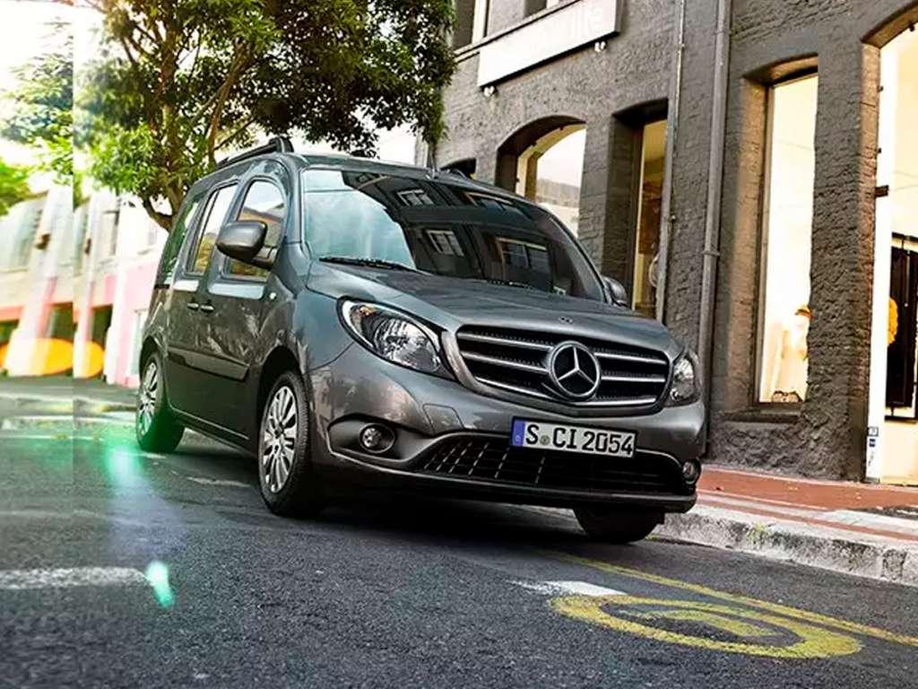 Galería de fotos del Mercedes Benz Citan Tourer Profesional (4)