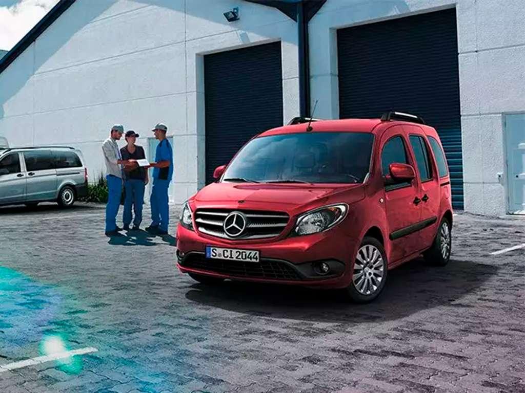 Galería de fotos del Mercedes Benz Citan Tourer Particular (2)