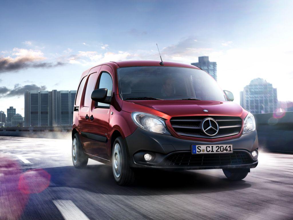Galería de fotos del Mercedes Benz Citan Furgón (3)