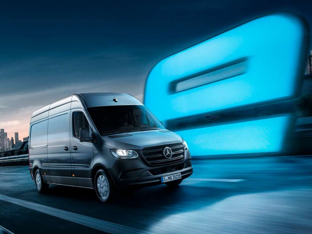 Galería de fotos del Mercedes Benz eSprinter Furgón (1)