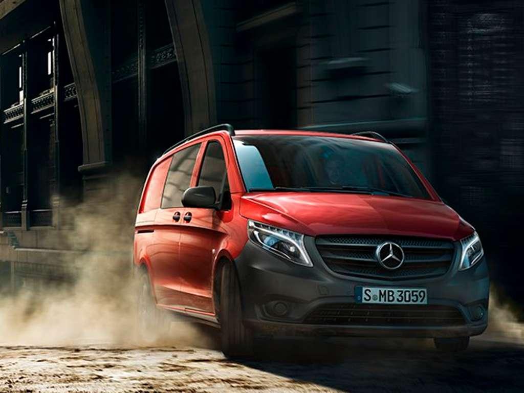 Galería de fotos del Mercedes Benz Vito Mixta (1)