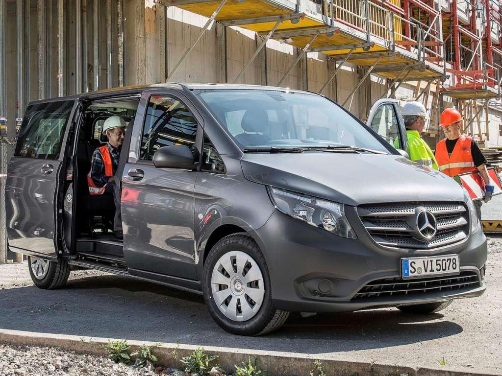 Galería de fotos del Mercedes Benz Vito Mixta (2)