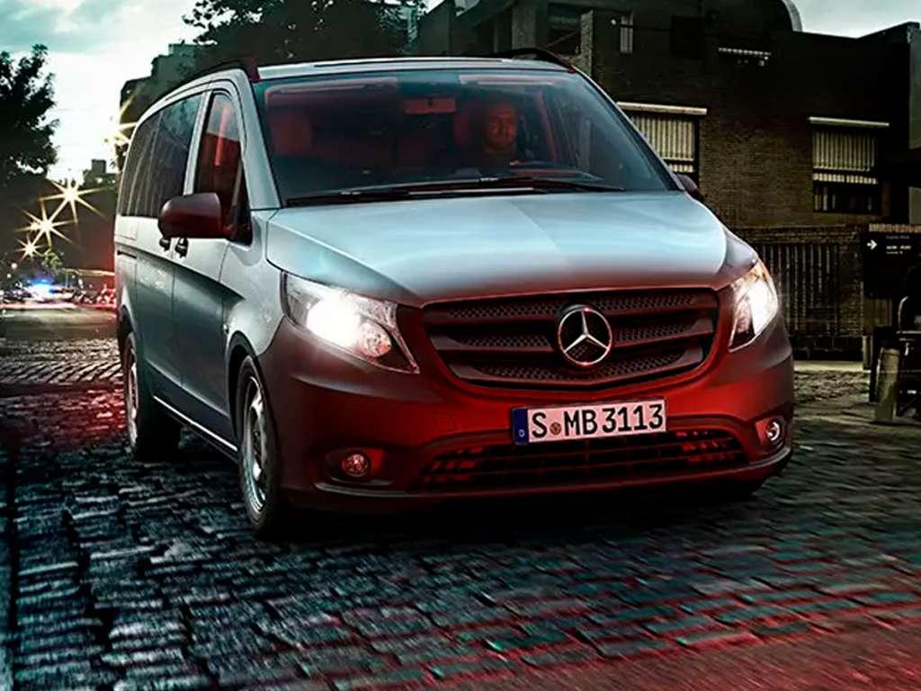 Galería de fotos del Mercedes Benz Vito Tourer Profesional (1)