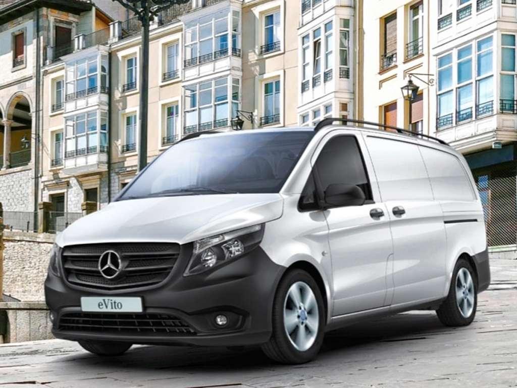 Galería de fotos del Mercedes Benz eVito Furgón (1)
