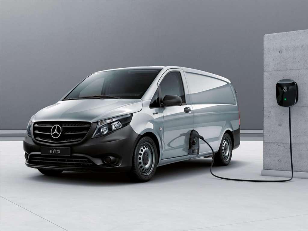 Galería de fotos del Mercedes Benz eVito Furgón (2)