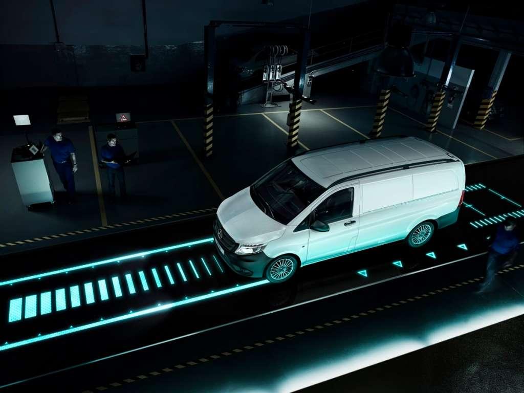 Galería de fotos del Mercedes Benz eVito Furgón (4)