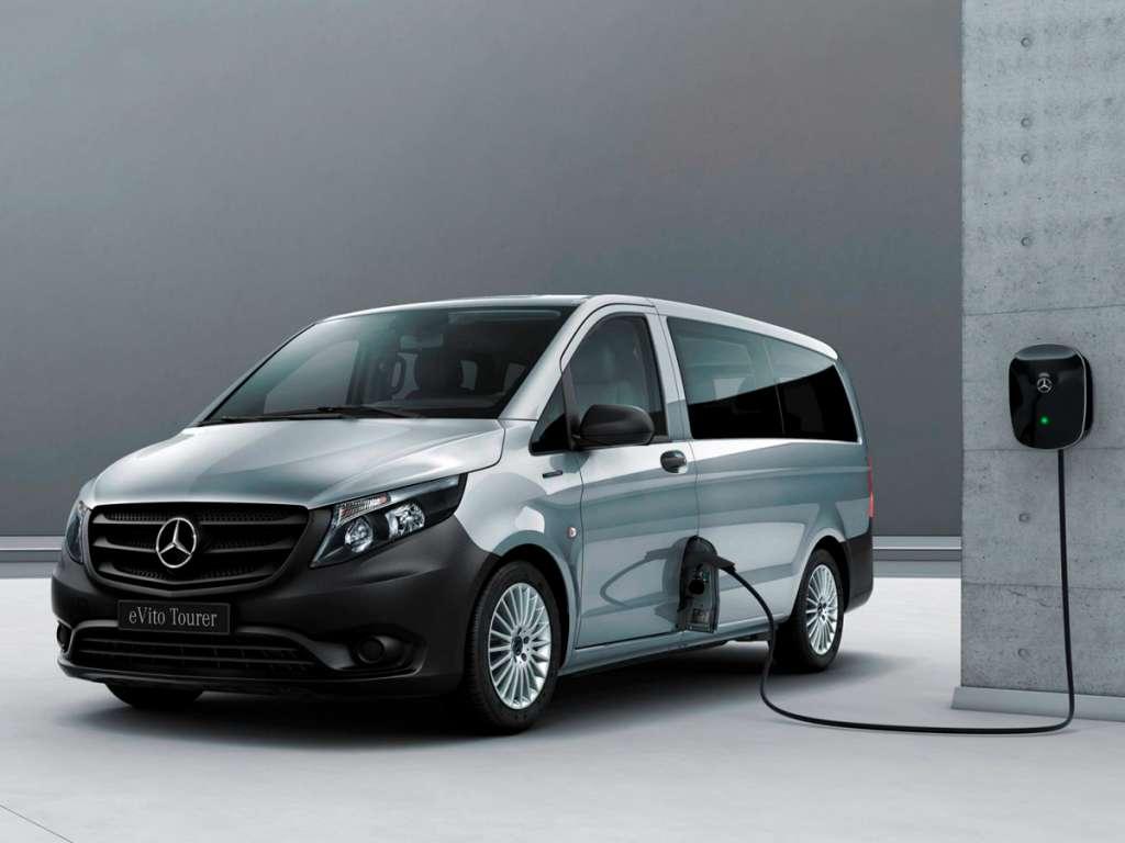 Galería de fotos del Mercedes Benz eVito Tourer (2)