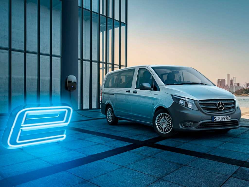 Galería de fotos del Mercedes Benz eVito Tourer (3)