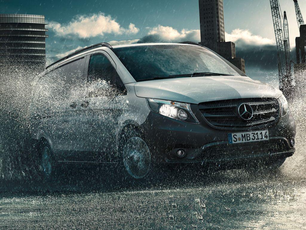 Galería de fotos del Mercedes Benz Vito Furgón (4)