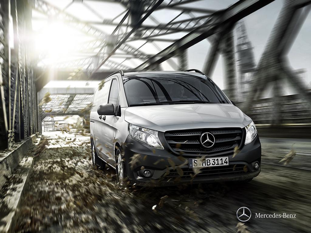 Galería de fotos del Mercedes Benz Vito Furgón (1)