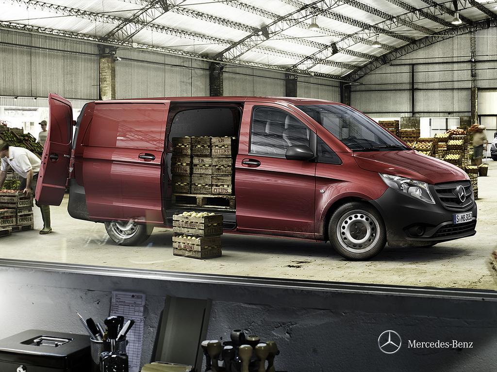 Galería de fotos del Mercedes Benz Vito Furgón (2)