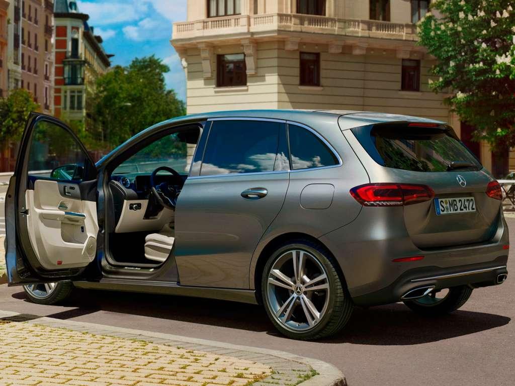 Galería de fotos del Mercedes Benz CLASE B SPORTS TOURER (5)