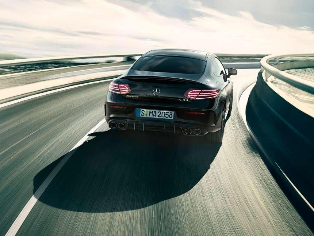 Galería de fotos del Mercedes Benz AMG CLASE C COUPÉ (2)