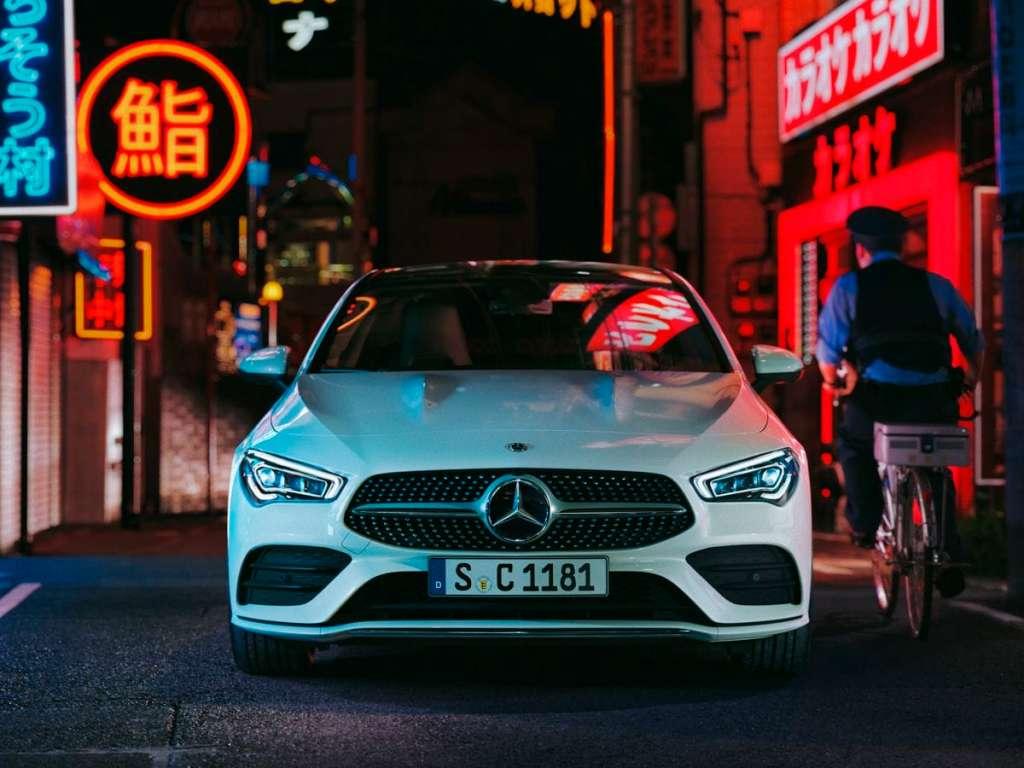 Galería de fotos del Mercedes Benz CLA COUPE (2)