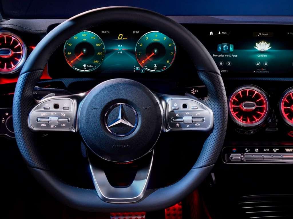Galería de fotos del Mercedes Benz CLA COUPE (5)