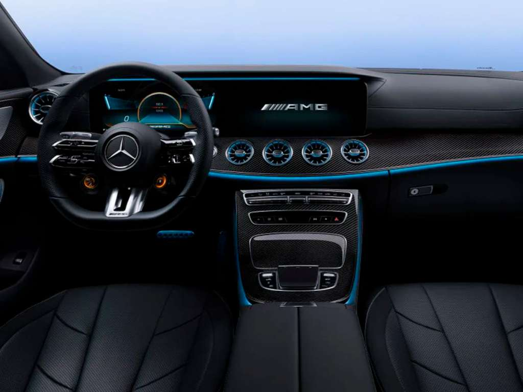 Galería de fotos del Mercedes Benz NUEVO AMG CLS COUPÉ (4)