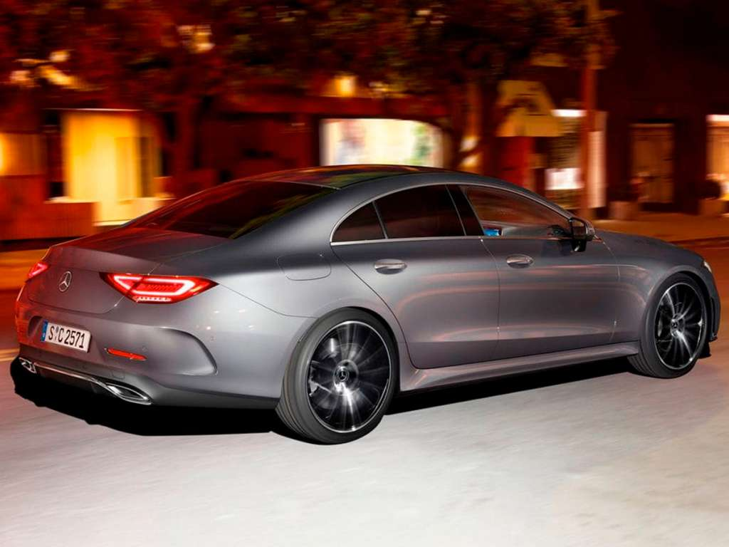 Galería de fotos del Mercedes Benz CLS COUPÉ (2)