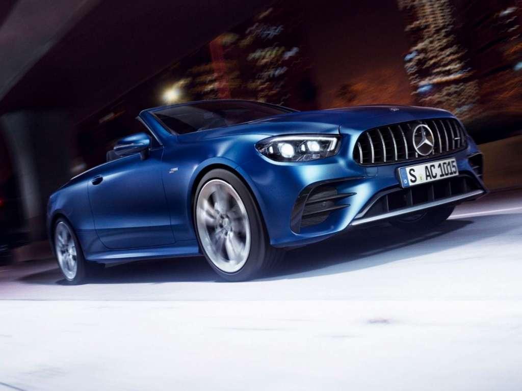 Galería de fotos del Mercedes Benz NUEVO AMG CLASE E CABRIO (1)