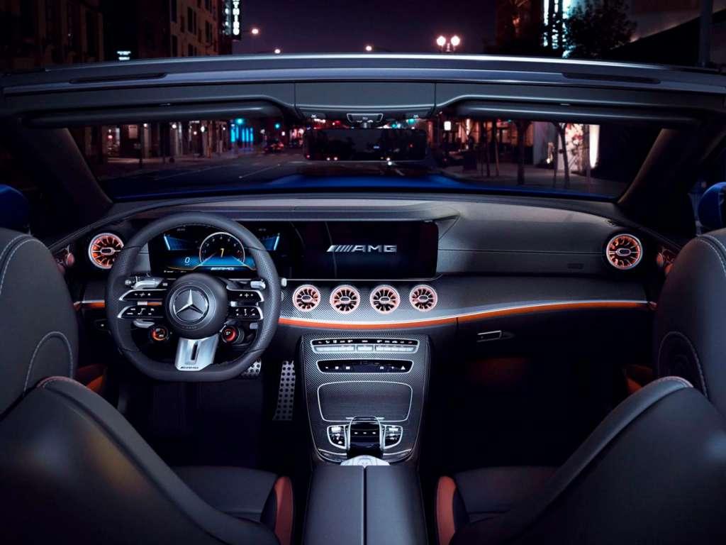 Galería de fotos del Mercedes Benz NUEVO AMG CLASE E CABRIO (3)