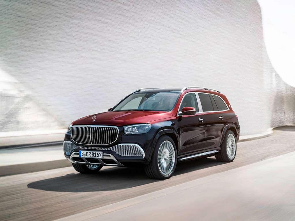 Galería de fotos del Mercedes Benz NUEVO GLS MAYBACH (1)
