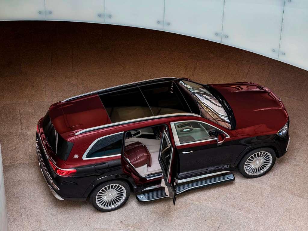 Galería de fotos del Mercedes Benz NUEVO GLS MAYBACH (3)