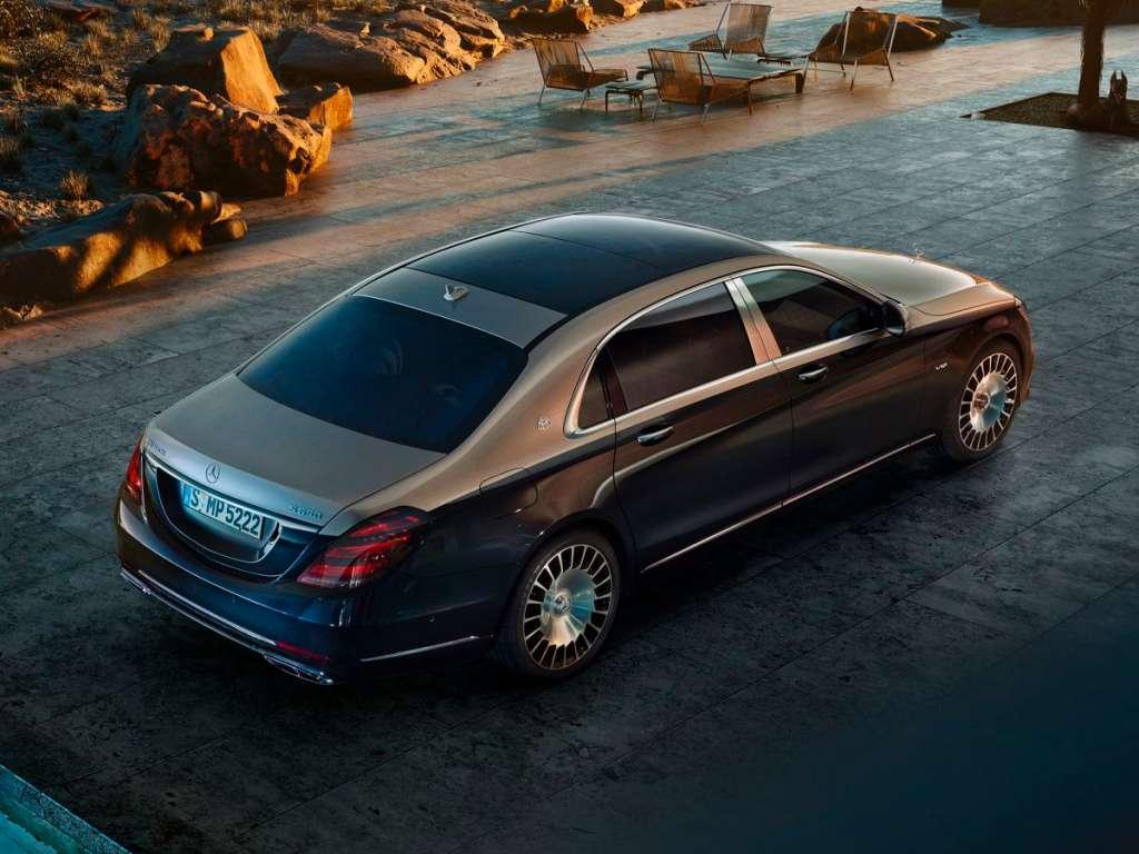 Galería de fotos del Mercedes Benz CLASE S MERCEDES MAYBACH (2)