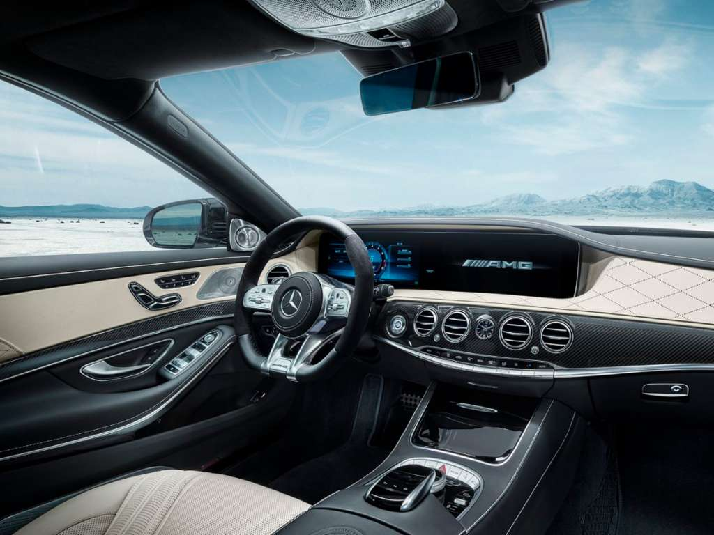 Galería de fotos del Mercedes Benz AMG CLASE S BERLINA LARGA (5)