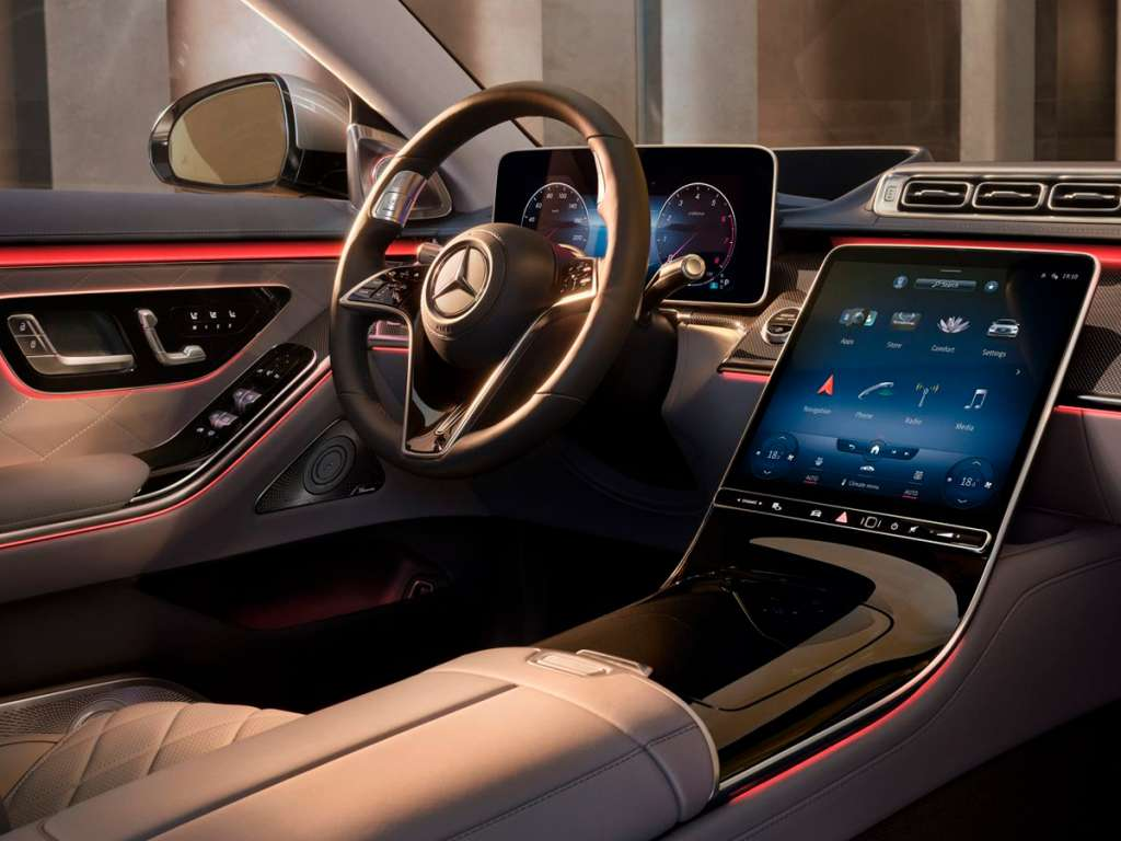 Galería de fotos del Mercedes Benz NUEVO CLASE S BERLINA LARGA (5)