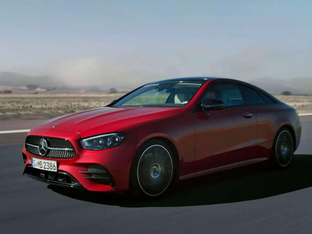 Mercedes-Benz NOVO CLASSE E COUPÉ
