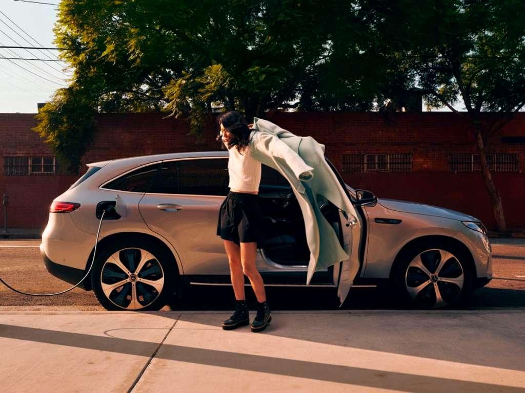 Galería de fotos del Mercedes Benz EQC SUV (4)