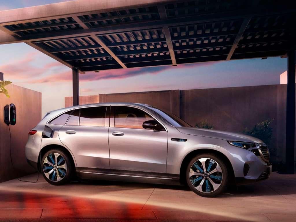 Galería de fotos del Mercedes Benz EQC SUV (1)