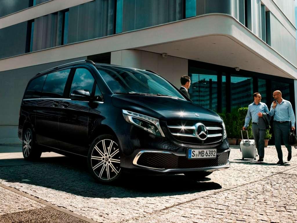 Galería de fotos del Mercedes Benz Clase V (1)