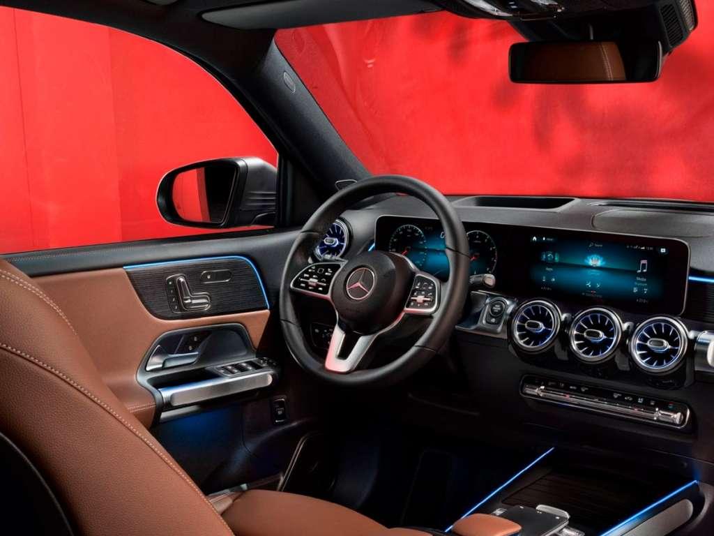 Galería de fotos del Mercedes Benz GLB SUV (4)