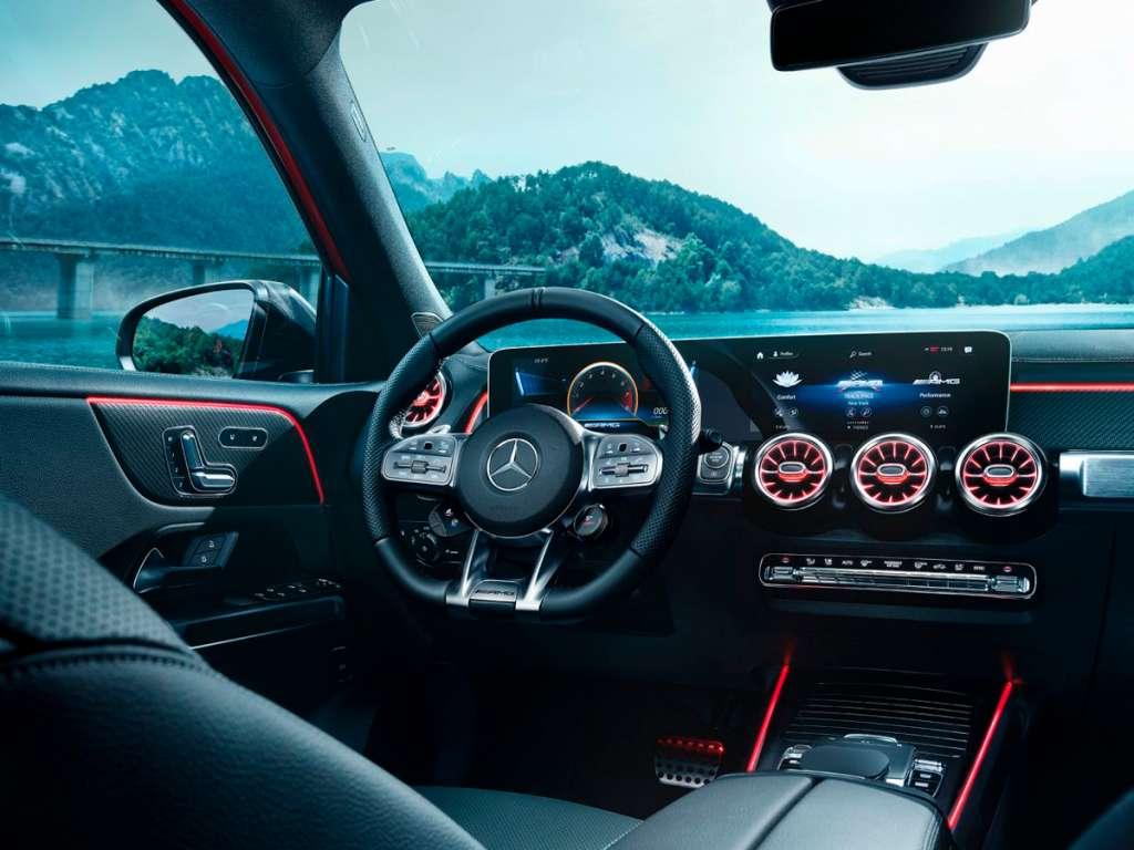 Galería de fotos del Mercedes Benz AMG GLB SUV (3)