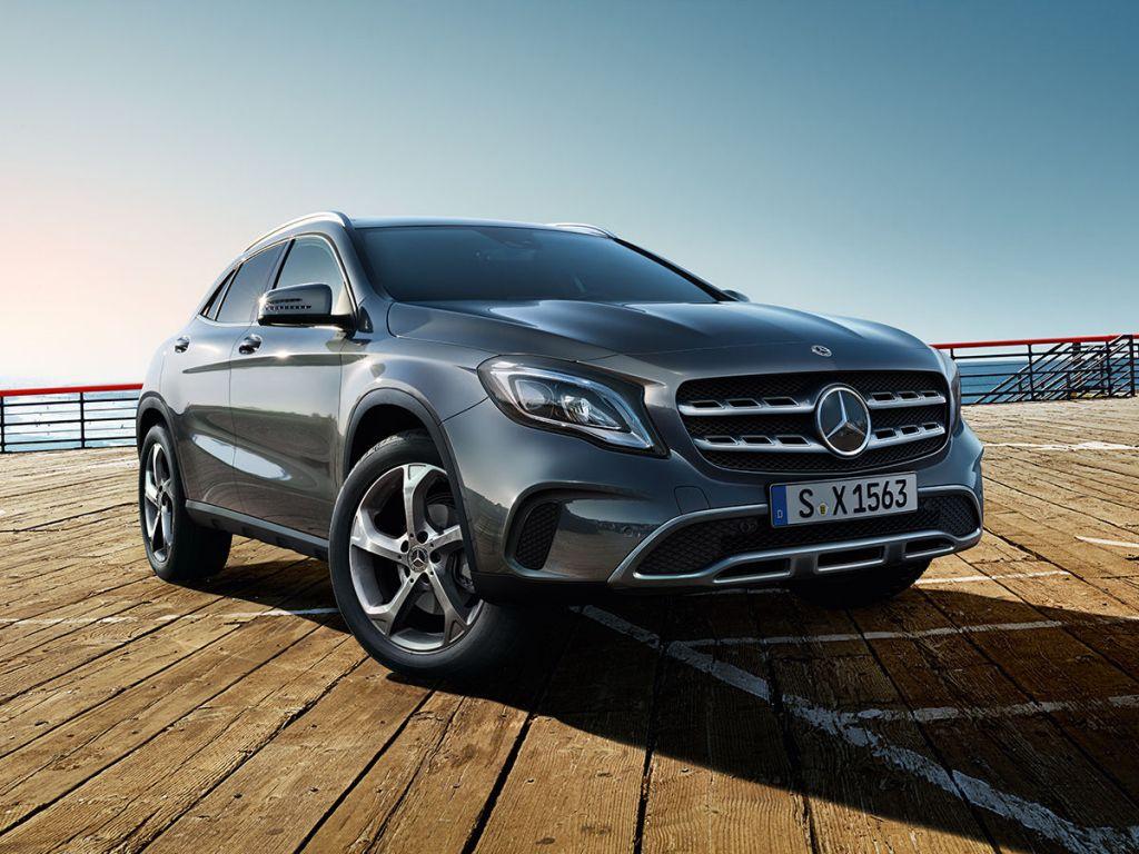 Galería de fotos del Mercedes Benz GLA SUV (1)