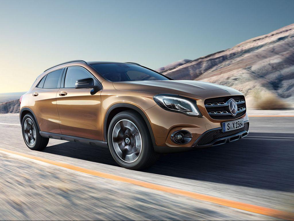 Galería de fotos del Mercedes Benz GLA SUV (3)