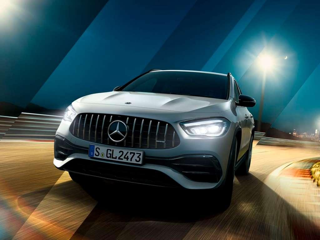 Galería de fotos del Mercedes Benz NUEVO AMG GLA SUV (1)