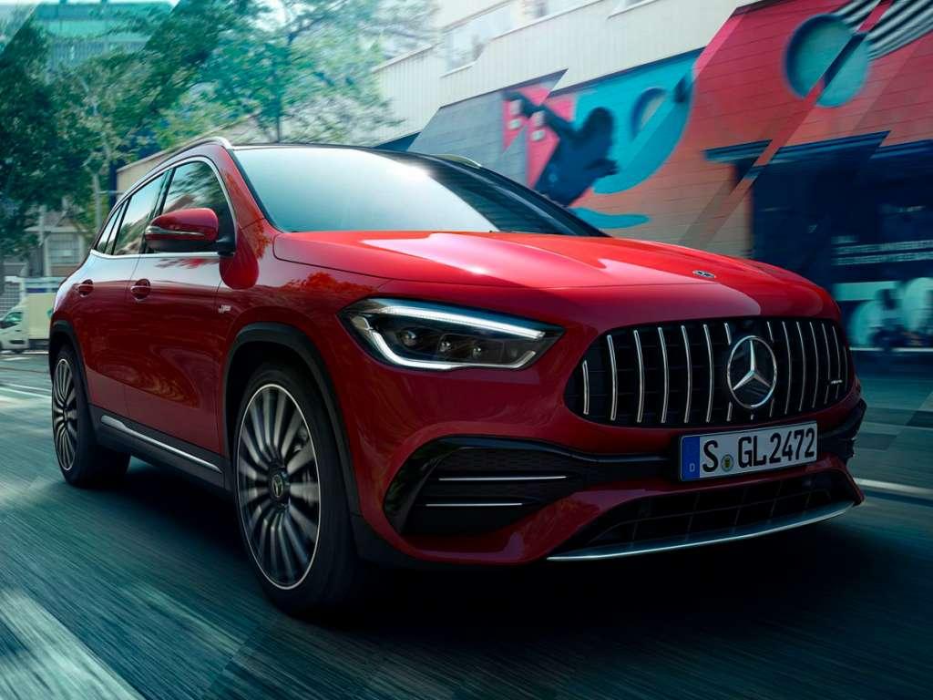 Galería de fotos del Mercedes Benz NUEVO AMG GLA SUV (3)
