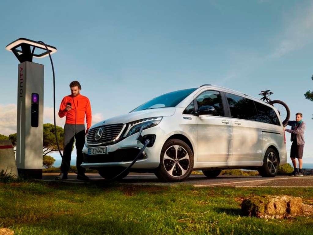 Galería de fotos del Mercedes Benz EQV (2)