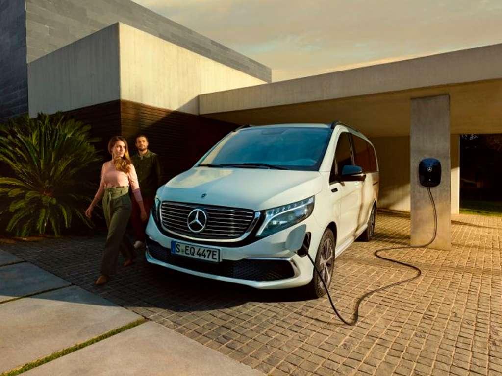 Galería de fotos del Mercedes Benz EQV (3)