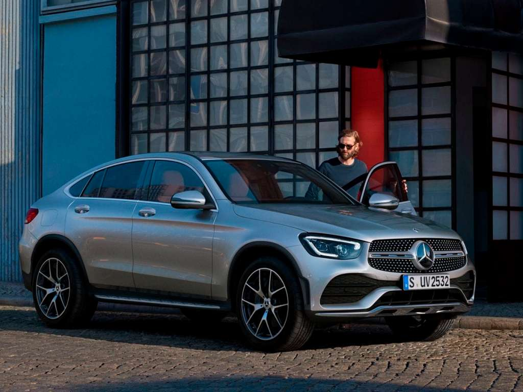Galería de fotos del Mercedes Benz GLC COUPÉ (1)