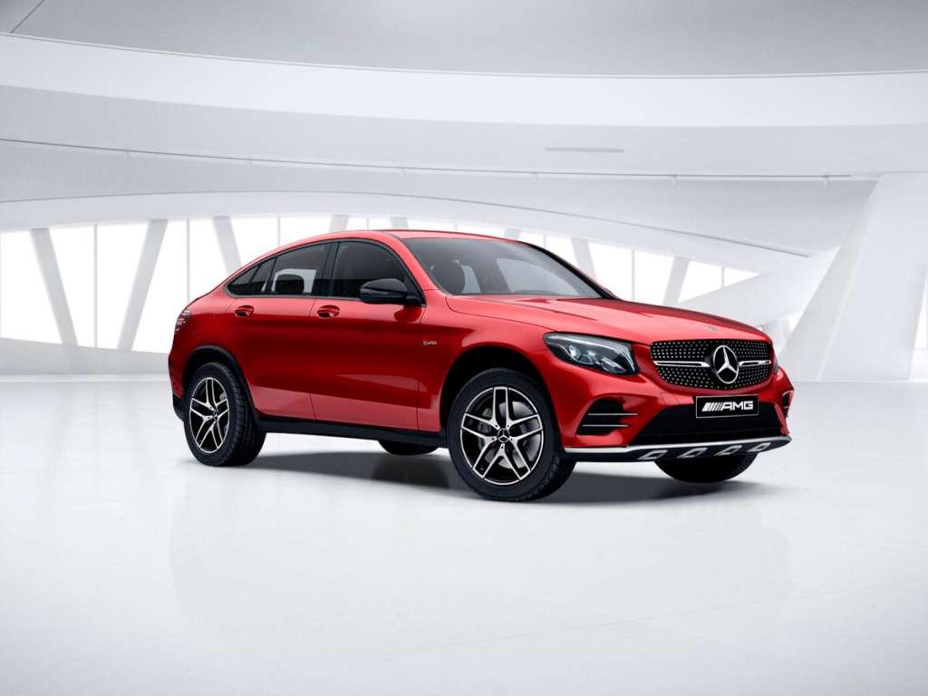 Galería de fotos del Mercedes Benz AMG GLC COUPÉ (1)