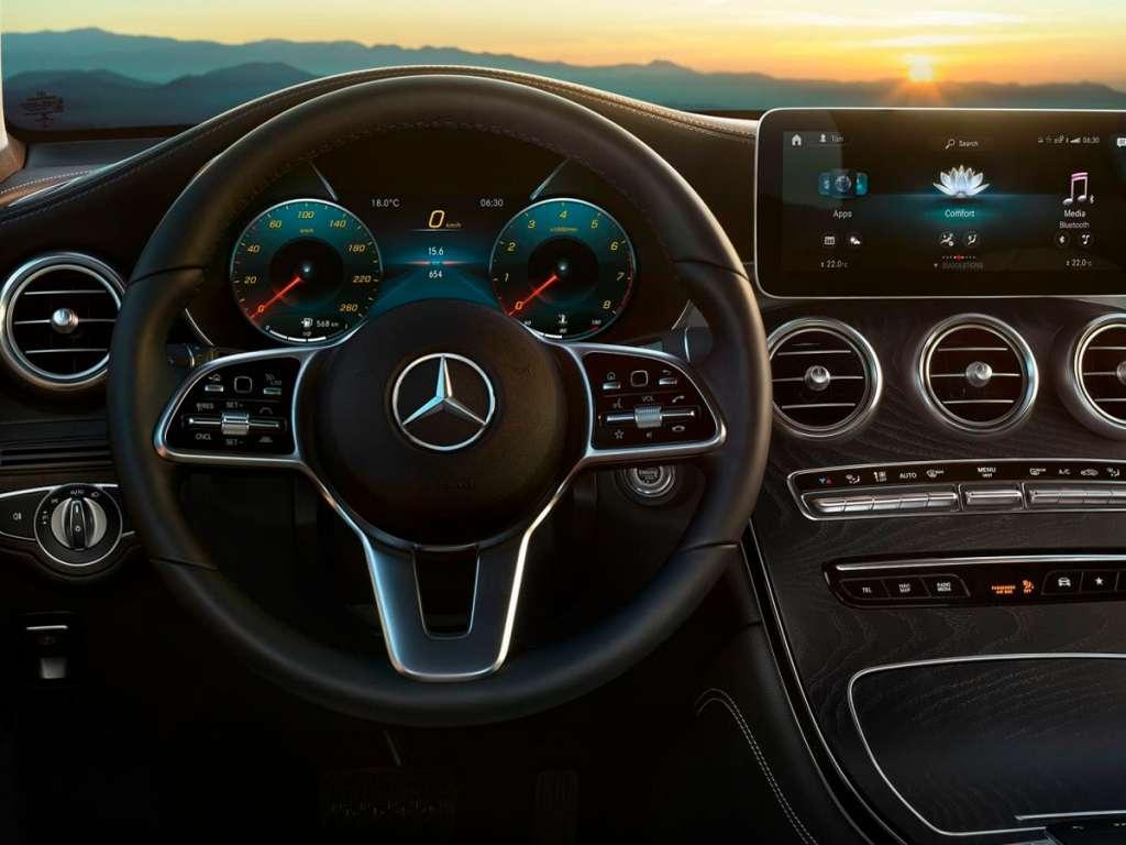 Galería de fotos del Mercedes Benz GLC SUV (5)