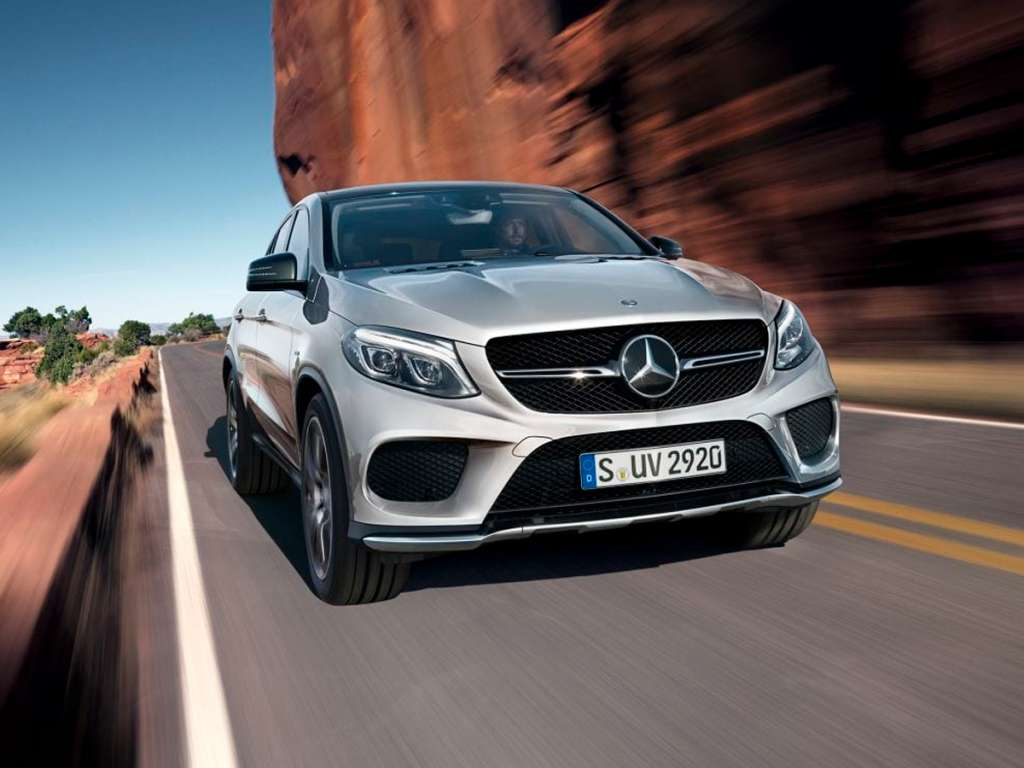 Galería de fotos del Mercedes Benz GLE COUPÉ (2)