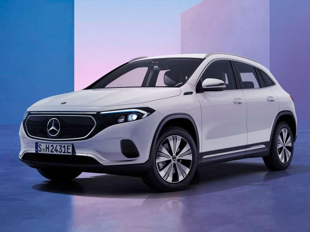 Galería de fotos del Mercedes Benz NUEVO EQA (1)