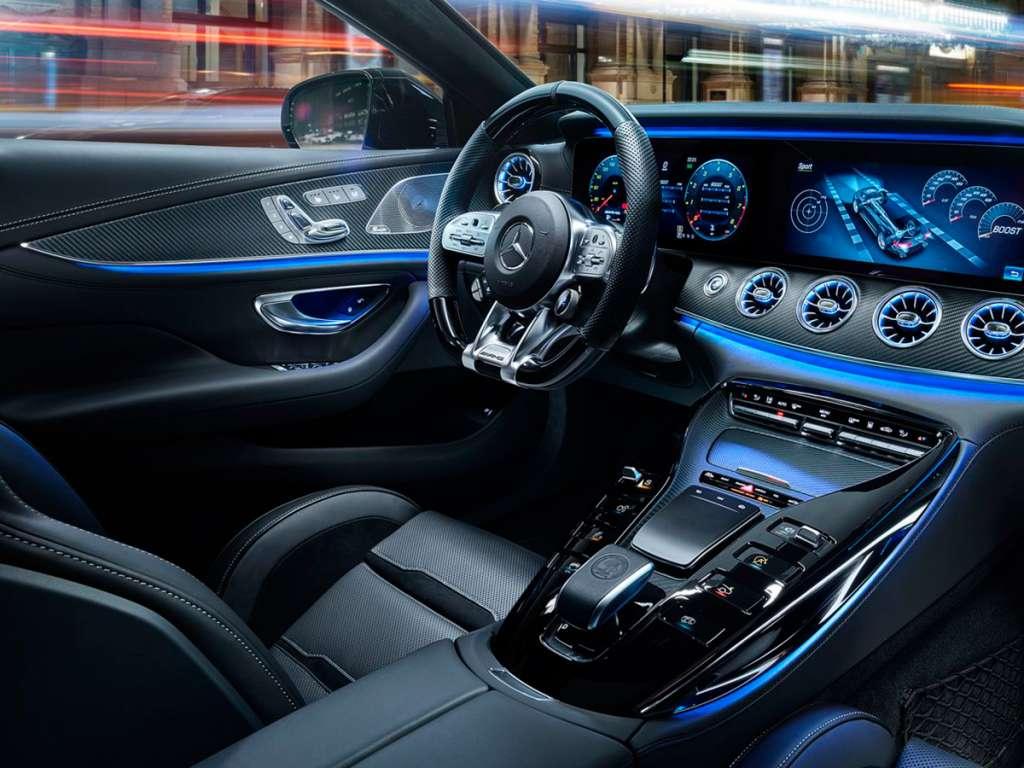 Galería de fotos del Mercedes Benz AMG GT 4 PUERTAS COUPÉ (4)