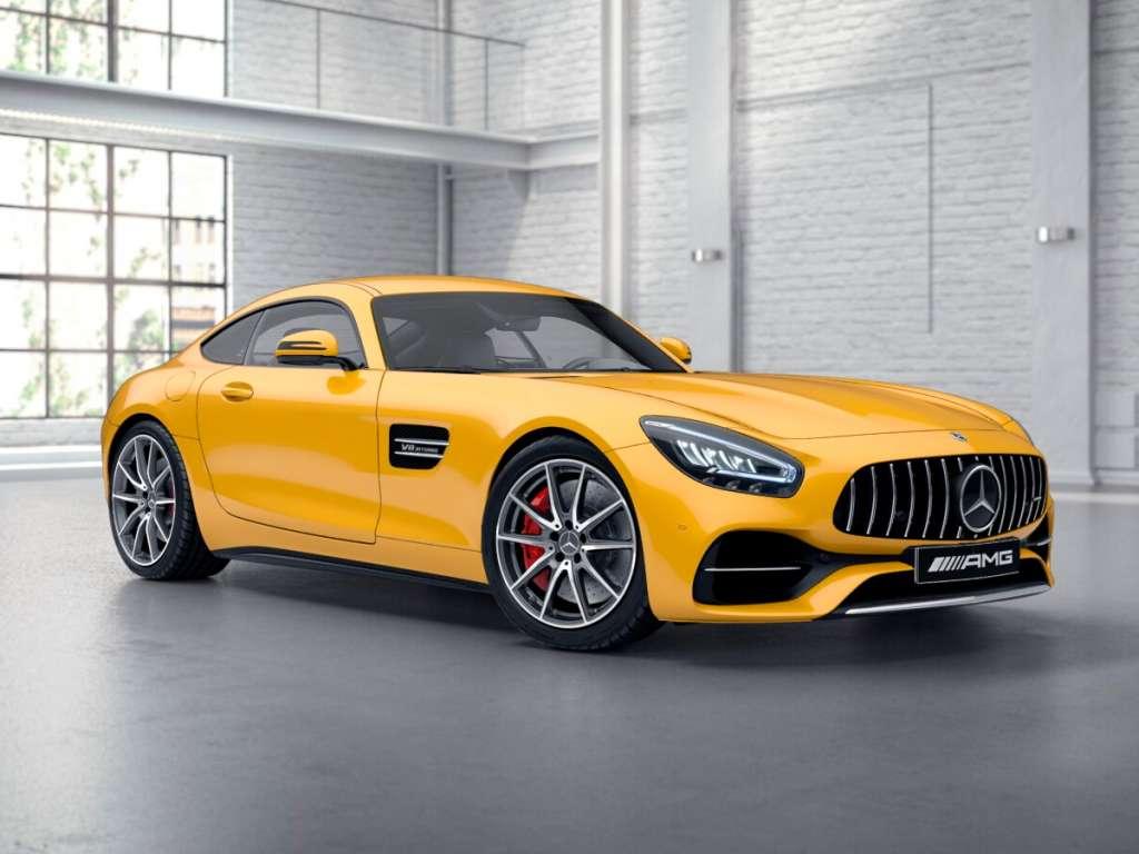 Galería de fotos del Mercedes Benz AMG GT COUPÉ (1)